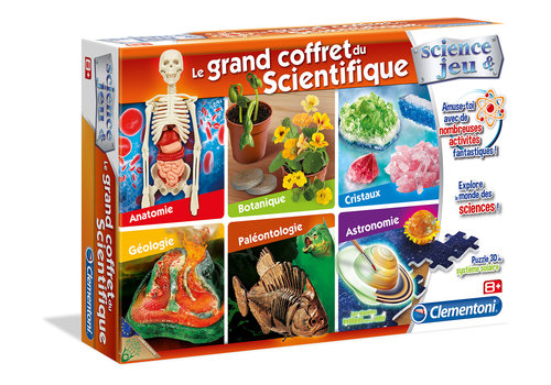Clementoni LE GRAND COFFRET DU SCIENTIFIQue