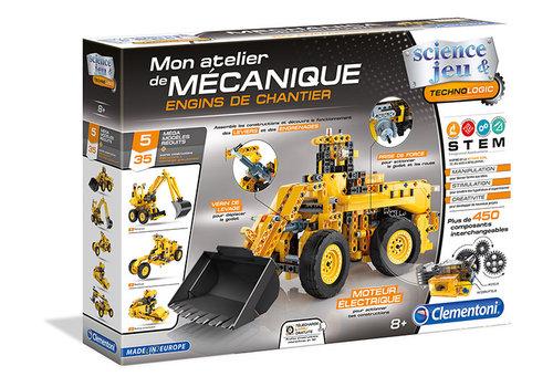 Clementoni Mon atelier de mécanique ENGINS DE CHANTIER