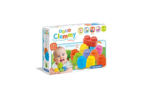 Clementoni CLEMMY:ENS.12 BLOCS SOUPLES(M)