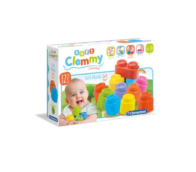 Clemmy : 12 Soft blocks set