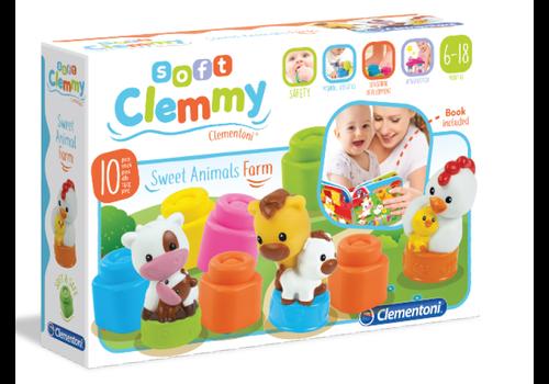 Clementoni LIVRE CLEMMY FERME