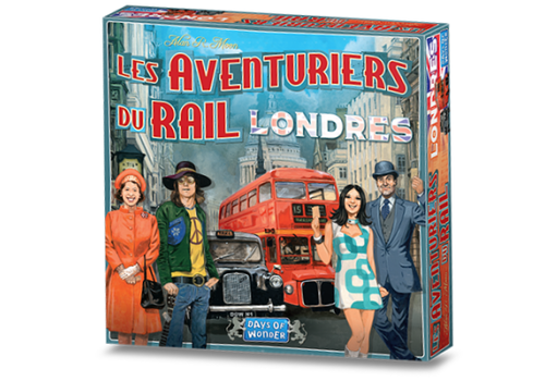 Days of Wonder Les aventuriers du rail express Londres