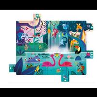 """Puzzle Surprise - """"Festin Dans La Jungle"""" - 20 Pcs"""