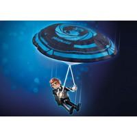 Playmobil THE MOVIE Rex Dasher avec Parachute