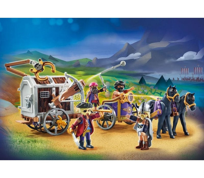 Playmobil THE MOVIE Charlie avec convoi*