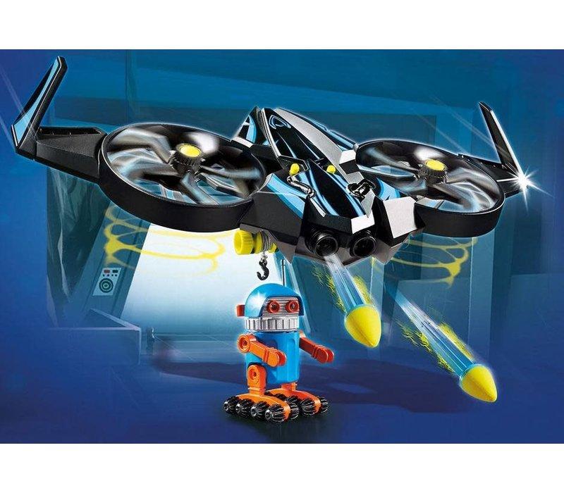Playmobil THE MOVIE Robotitron avec drone