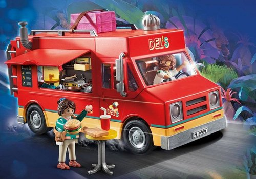 Playmobil Playmobil THE MOVIE Food truck de Del