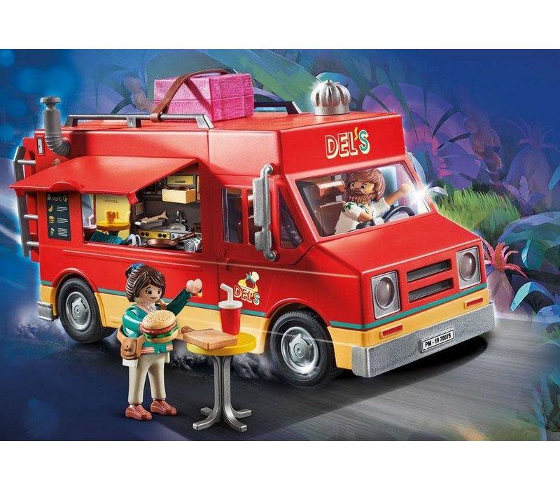 Playmobil THE MOVIE Food truck de Del