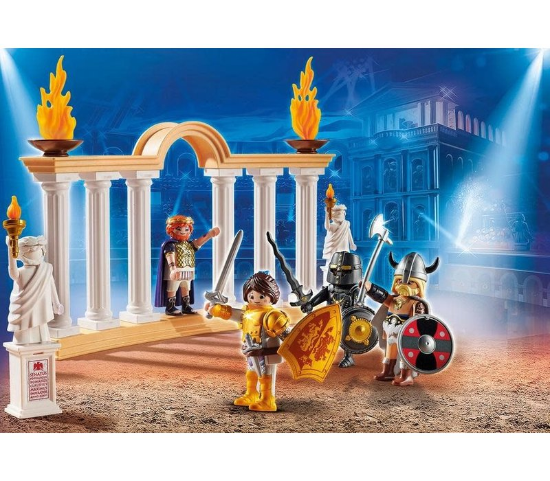 Playmobil THE MOVIE Empereur Maximus
