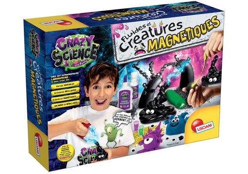 Lisciani (Giochi) Crazy Science Le Laboratoire de glue et créatures magnétiques Version française