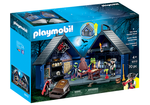 Playmobil Maison hantée transportable