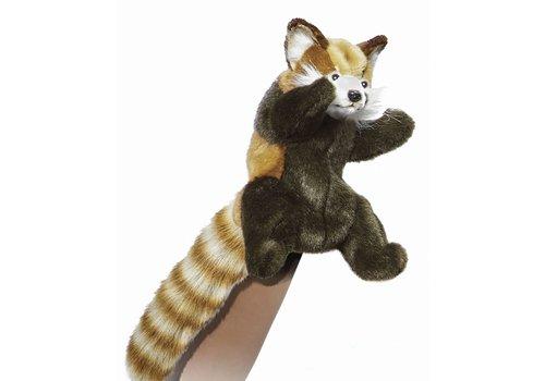 hansa Marionnette à gaine Panda Roux