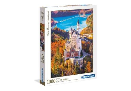 Clementoni Casse-tête 1000 morceaux château de Neuschwanstein