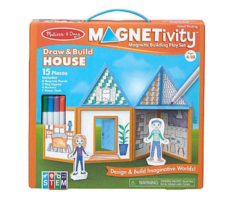 Magnetivity - Draw and build house - Dessine et construis ta maison magnétique