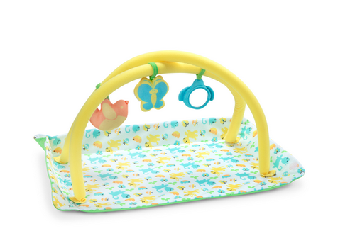 Melissa & Doug Mine to Love - Toy Time Play Set - Ensemble de jouet et tapis d'éveil pour poupées