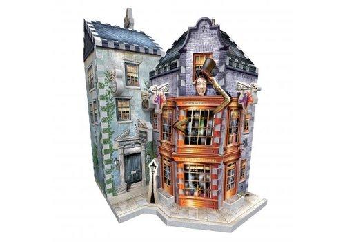 wrebbit Casse-tête 3D - Weasley Farces sorciers facétieux & gazette