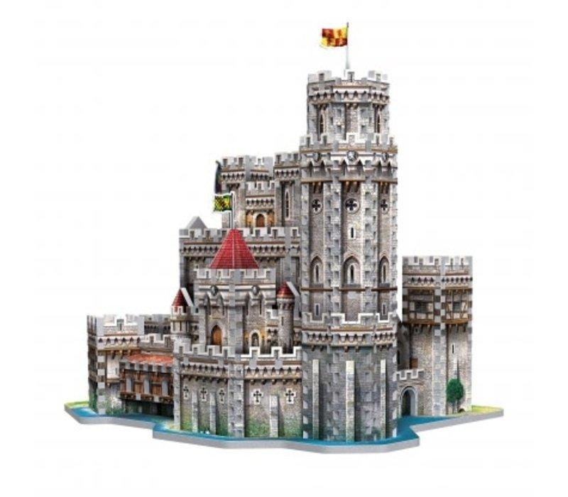Casse-tête 3 dimensions - Camelot château du roi arthur