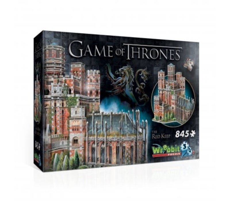 Casse-tête 3dimensions - Le donjon rouge - game of thrones
