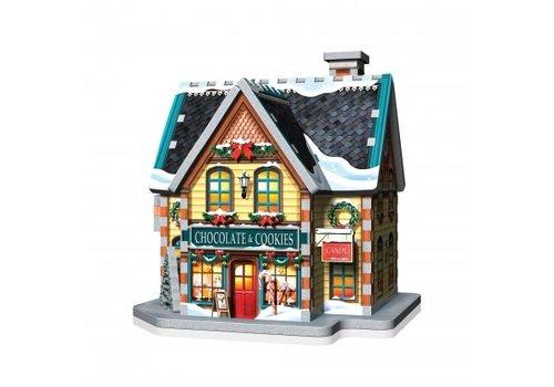 wrebbit Casse-tête-3dimensions-Le village de Noël
