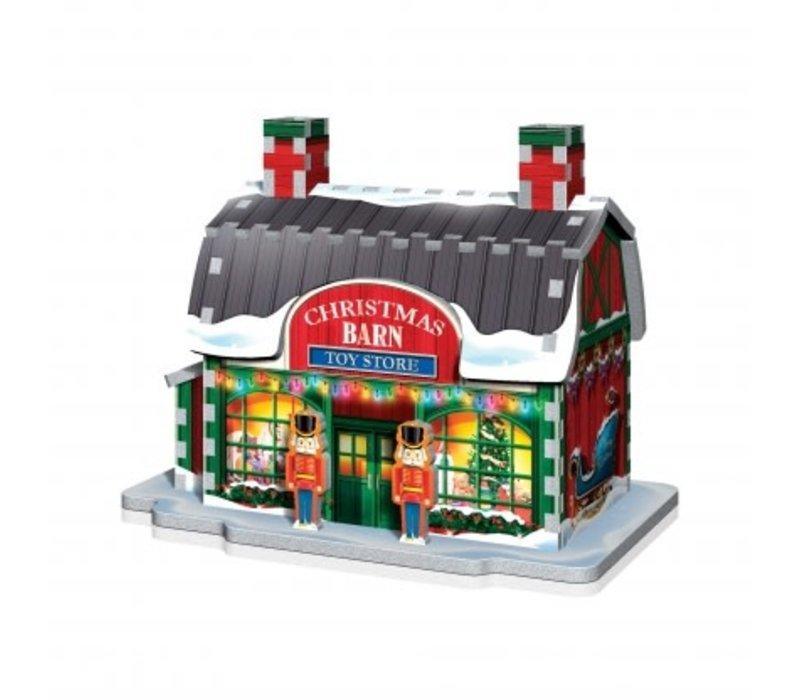 Casse-tête-3dimensions-Le village de Noël