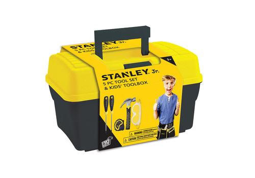 Stanley Jr Stanley Jr. - Ensemble Coffre et 5 outils