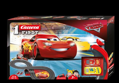 carrera Piste de course Disney Les bagnoles Flash McQueen - Cars