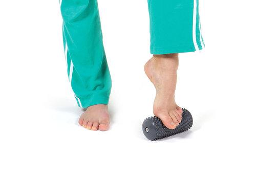 Gymnic Rouleau à massage activ roll