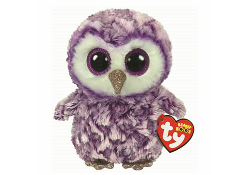 ty Peluche Hibou moonlight