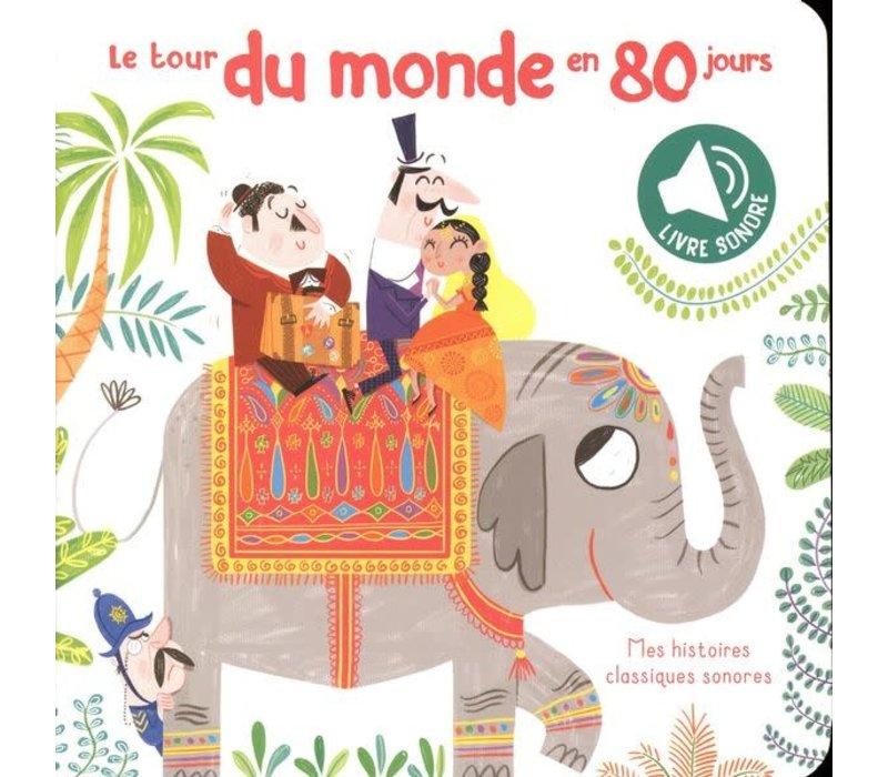 Livre sonore - Le tour du monde en 80 jours