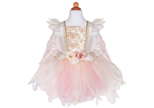 creative education Rose Fée Rose Or - Golden Rose Fairy dress 5-7 ans