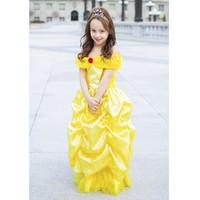 Deluxe Bell Dress - Robe de princesse de Belle 7-8 ans