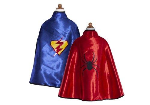 creative education Cape Réversible spiderman - Adventure cape & Mask