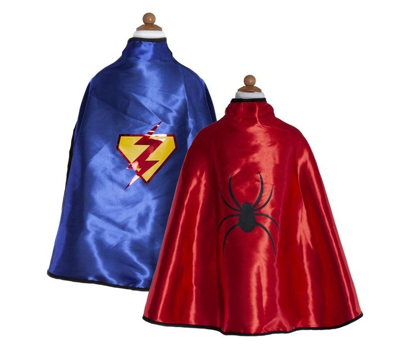Cape Réversible spiderman - Adventure cape & Mask