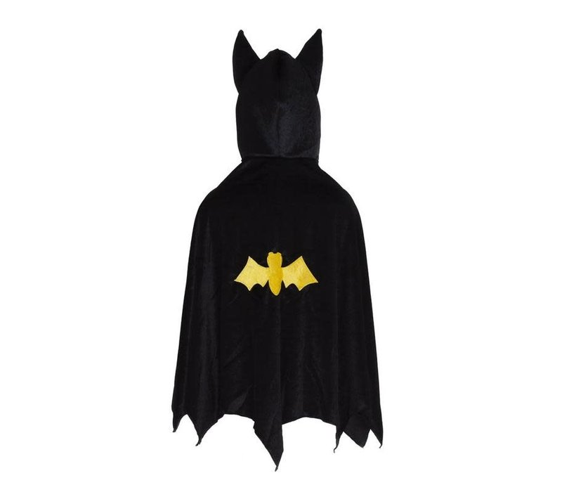 Cape de batman 5-6 ans - Hooded Bat cape, black