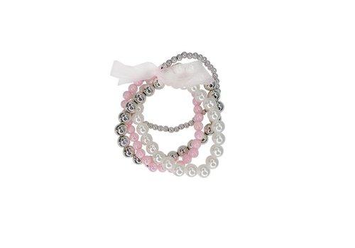 creative education Bracelet de Perles - Pearly to Wed Bracelet Set