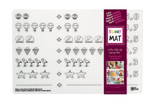 Funny Mat Napperon à colorier Additions
