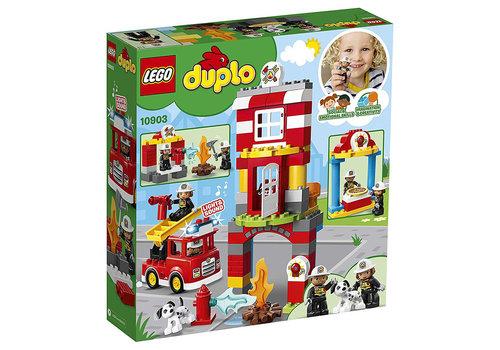 Lego Duplo la caserne de pompier