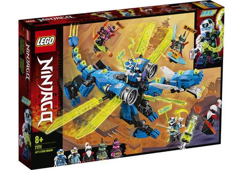 Lego Ninjago- Le cyber dragon de Jay