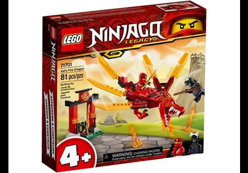 Lego Ninjago-Le dragon de feu de Kai