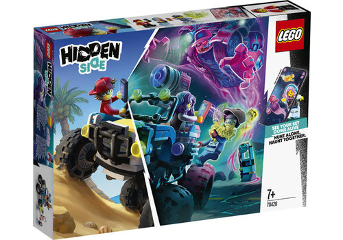 Lego Hidden Side-Le buggy de la plage de Jack