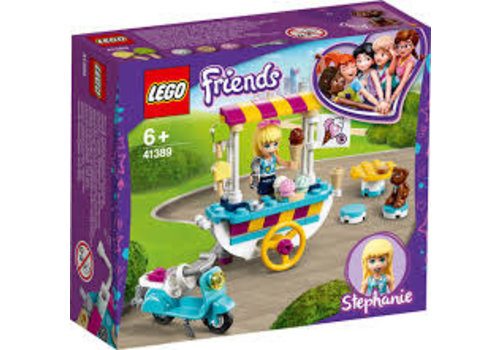 Lego Friends-Le chariot de crèmes glacées