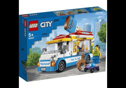 Lego City-Le camion du marchand de glace