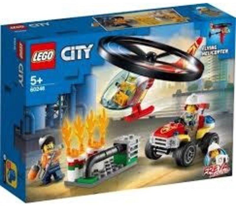 CityFire-L'intervention de l'hélicoptère des pompiers