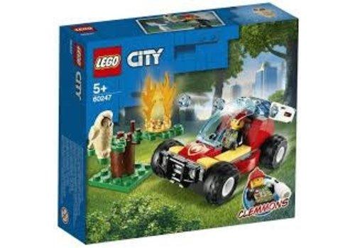 Lego City Fire- Le feu de forêt
