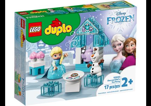 Lego Duplo Princess-e- Le goûter d'Elsa et d'Olaf