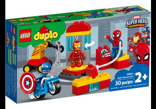 Lego Duplo Super Héros- Le labo des super-heros