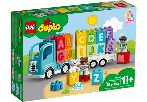 Lego Duplo- Le camion des lettres