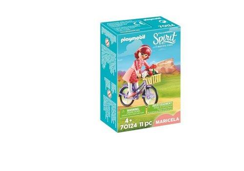 Playmobil Maricela et bicyclette*
