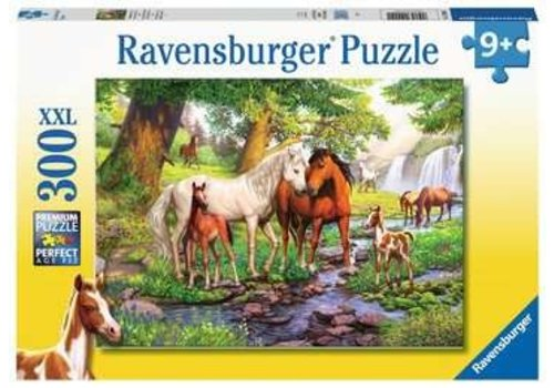 Ravensburger Horses by the Stream - 300
