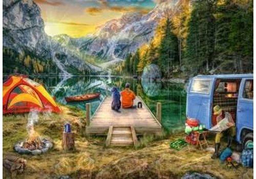 Ravensburger Calm Campsite - 1000 morceaux